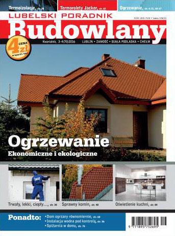 Lubelski Poradnik Budowlany 3−4/2016 (70), okładka
